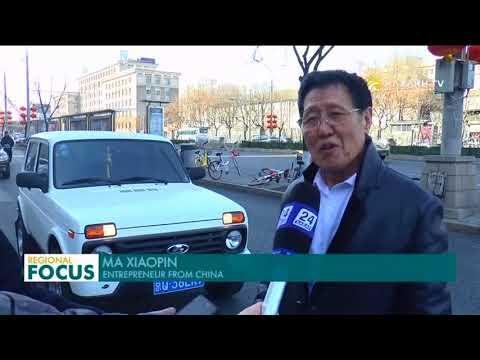 Export of Kazakhstan car to China