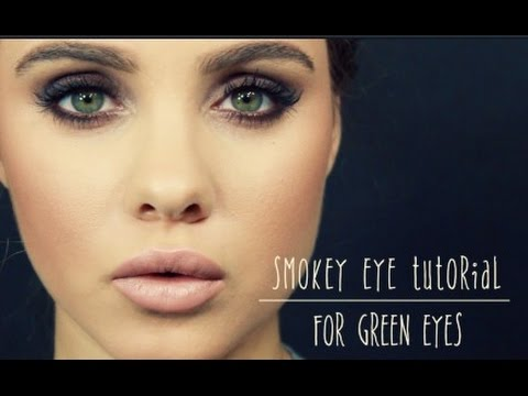 Smokey Eye Tutorial For Green Eyes Youtube