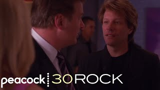 30 Rock - Jack and Bon Jovi's Fake Party