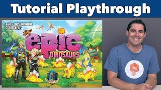 Tiny Epic Dinosaurs Tutorial & Playthrough