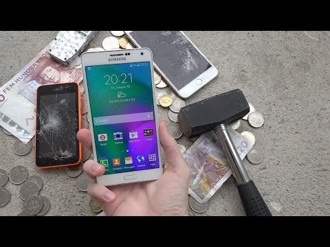Samsung Galaxy A7 Hammer Drop Test