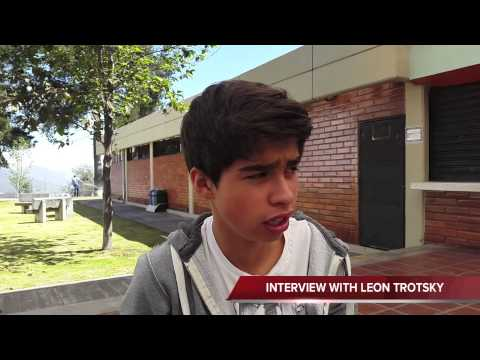 Interview Leon Trotsky