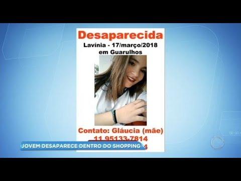 Jovem desaparece dentro de shopping em Guarulhos
