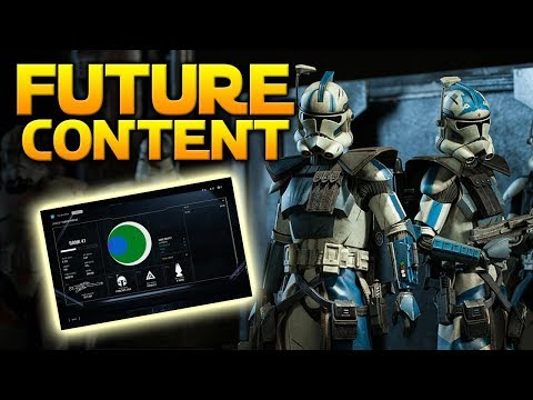 SO FAR FOUND FUTURE CONTENT (Datamining + Developer Promises)  - Star Wars Battlefront 2