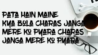 carry minati new comedy song charas ganja and ae rupali lyrics