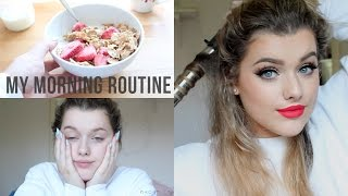 One of Rachel Leary's most viewed videos: My Spring Morning Routine! Hair & Make up | Rachel Leary