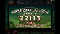 ALASKAN FISHING +MEGA WIN!!! 22113 CREDITS! +BONUS GAME! online free slot SLOTSCOCKTAIL microgaming