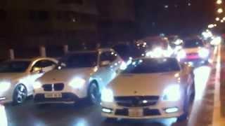 cortège de luxe a Oran + 20 Mercedes
