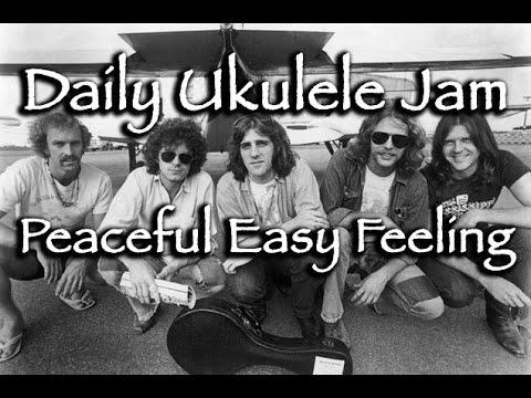 Sunday Jam Peaceful Easy Feeling For Ukulele Eagles Cover Youtube