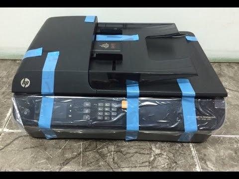 ענק HP DeskJet Ink Advantage 4645 e-All-in-One Printer Unboxing - YouTube IL-32