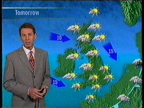 ITV Evening News & ITV Weather, Meridian - July 99