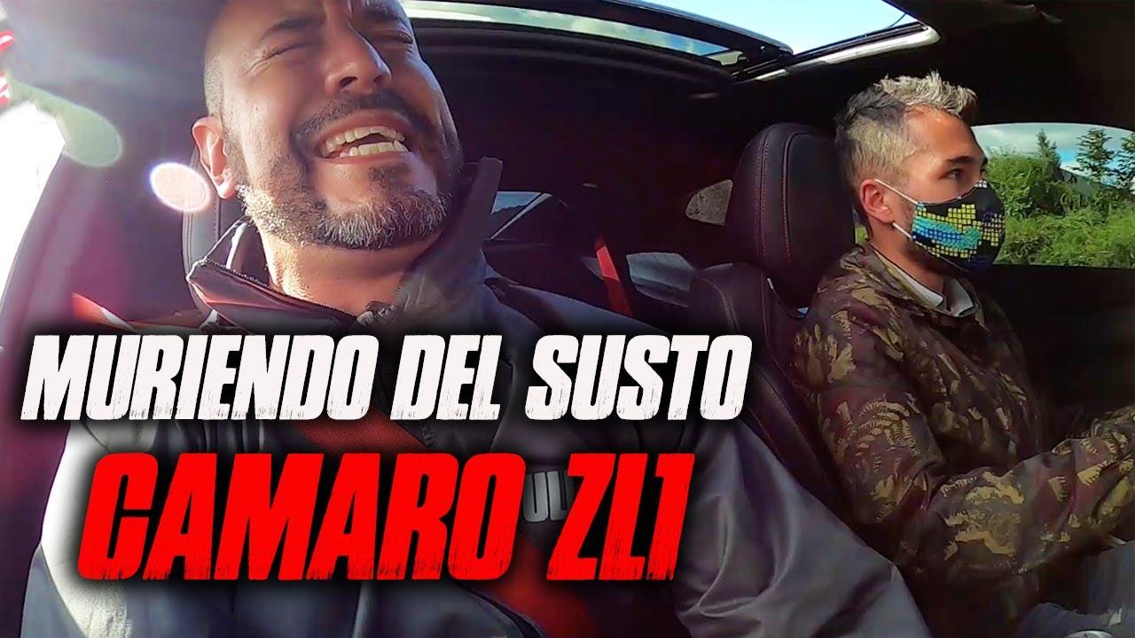MURIENDO DEL SUSTO EN CAMARO ZL1