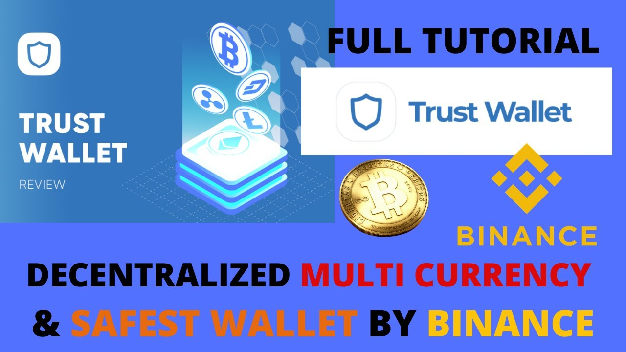 BEST CRYPTO CURRENCY WALLET BY BINANCE I FULL TUTORIAL OF TRUST WALLET I MULTI CRYPTO ACCOUNT WALLET