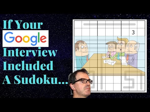 If Your Google Interview Included A Sudoku...