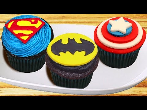 Cupcake Decorating Ideas | Best of Superhero Cupcakes | DIY Dessert Hacks by Hoopla Recipes