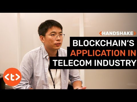 Blockchain's application in telecom industry