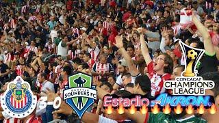 CHIVAS VS SEATTLE 3-0 NOS VAMOS A SEMIS!!! RESUMEN GOLES CUARTOS DE FINAL CONCACHAMPIONS