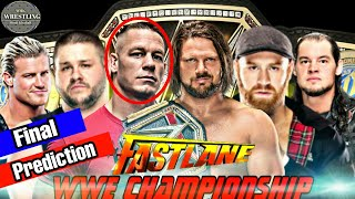 WWE Fastlane 2018 Final Match Card & Prediction | Fastlane 2018 Highlights & Results | Prediction |