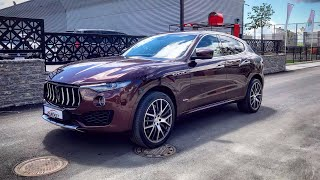 2019 Maserati Levante S V6 Review Test drive Exhaust sound