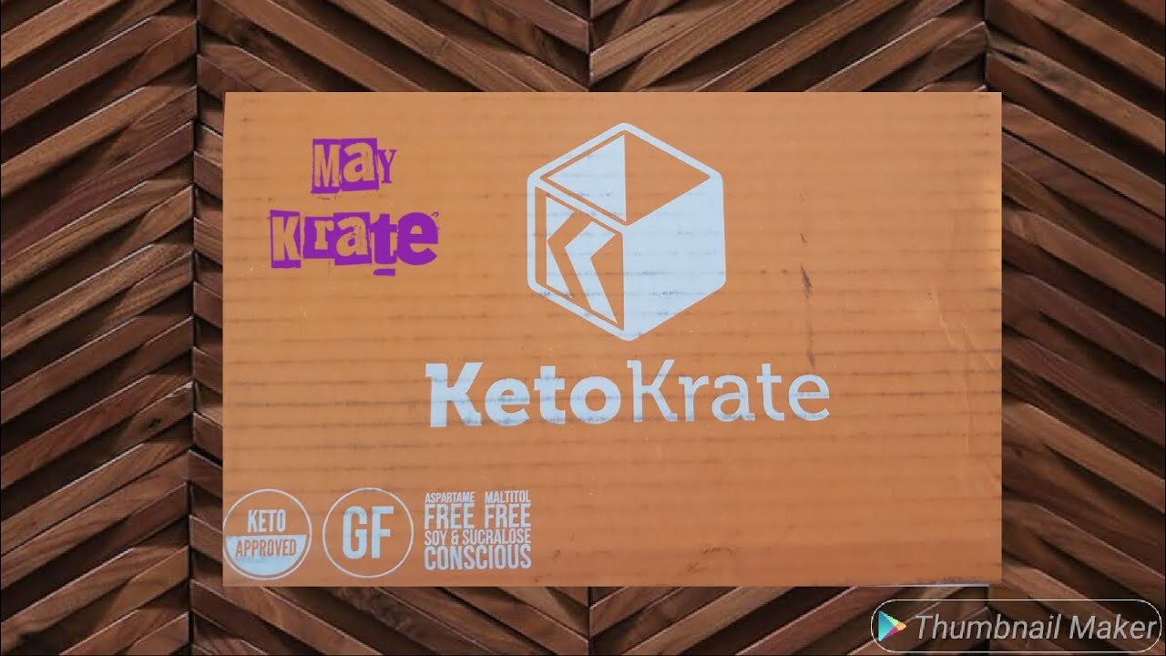 May Keto Krate Unboxing-not sponsored a real review #keto #weightloss  #ketokrate