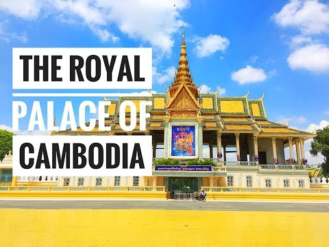 places to visit in Cambodia - The Royal Palace - Walking Day in Phnom Penh - Tonle Sap Riverside