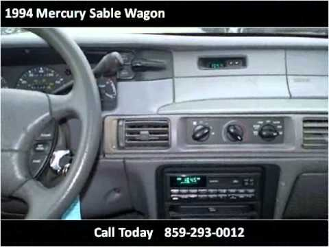 1994 mercury sable wagon used cars lexington ky youtube. Black Bedroom Furniture Sets. Home Design Ideas