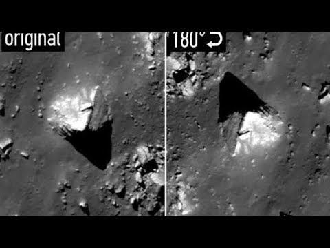 Неопознанные обьекты на Луне. Почему Аполлон 18 не вернулся на Землю.