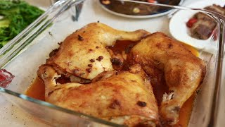 Куриные окорочка и картофельное пюре с васаби Кухня для своих