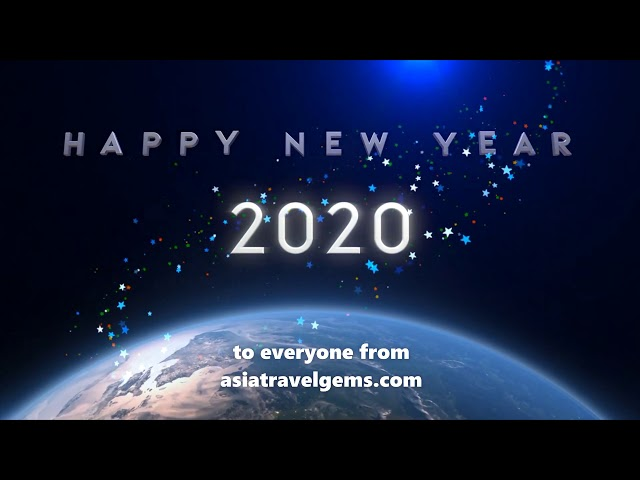 Happy New Year 2020 from Asia Travel Gems!