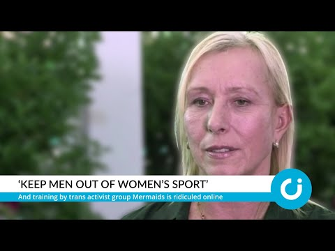 Navratilova: 'Keep men out of women's sport'