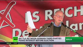 'Undecided': Clash of third parties peaks interest to German elections