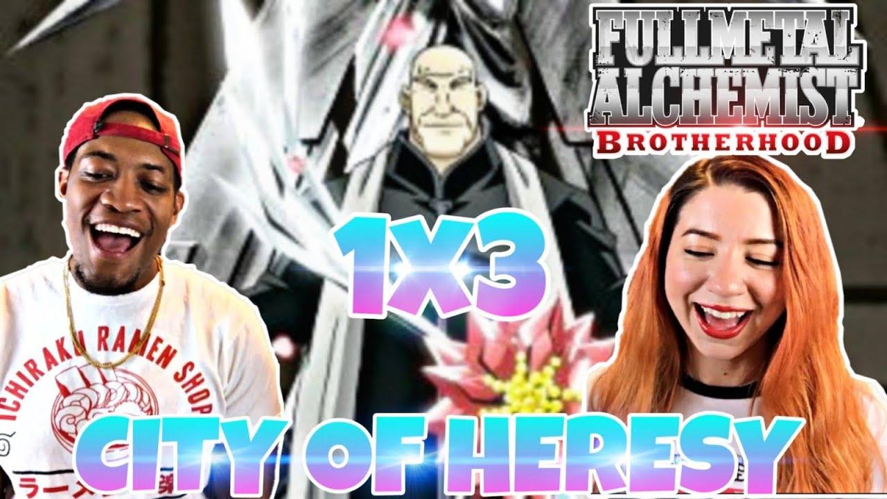 "Fullmetal Alchemist: Brotherhood Episode 3 ""City of Heresy ..."