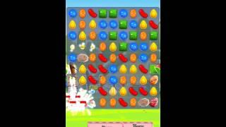 Candy Crush Saga Level 464 iPhone No Boosts