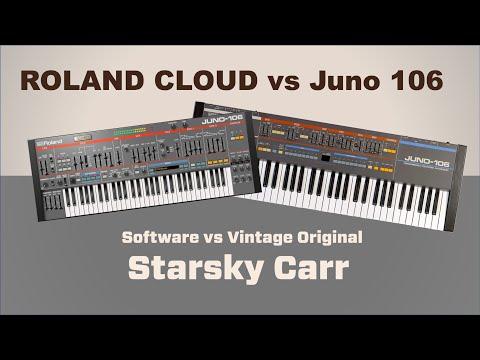 Roland Cloud vs Juno 106