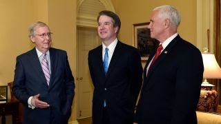 Judge Kavanaugh starts making the rounds on Capitol Hill thumbnail