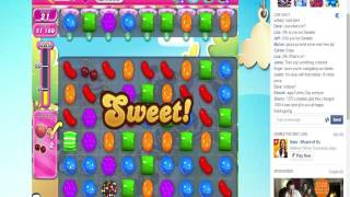 Candy Crush Level 1366  No Boosters