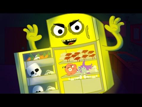 Haunted Fridge | Scary Nursery Rhymes | Kids Rhymes | Children Videos | Baby Song