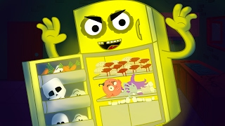 Haunted Fridge   Scary Nursery Rhymes   Kids Rhymes   Children Videos   Baby Song