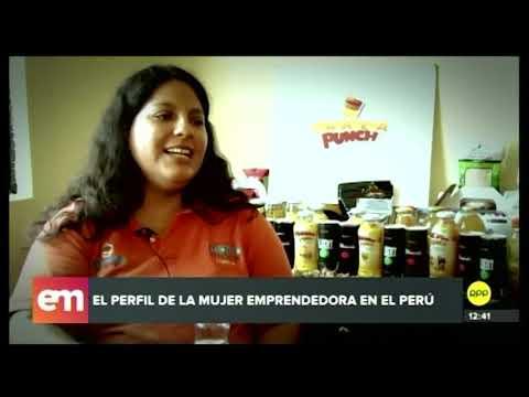 El Perfil De La Mujer Emprendedora En El Perú