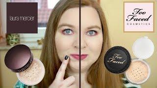 Too Faced vs Laura Mercier | całodzienny test na tłustej skórze