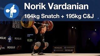 Norik Vardanian (96.64) - 164/195 @ hookgrip Spartakiad