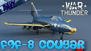 war thunder gameplay ita f9f 8 cougar