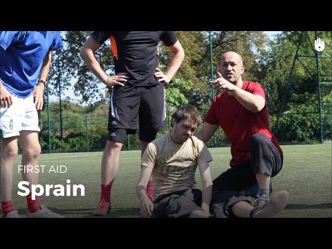 First Aid: Sprain | First Aid
