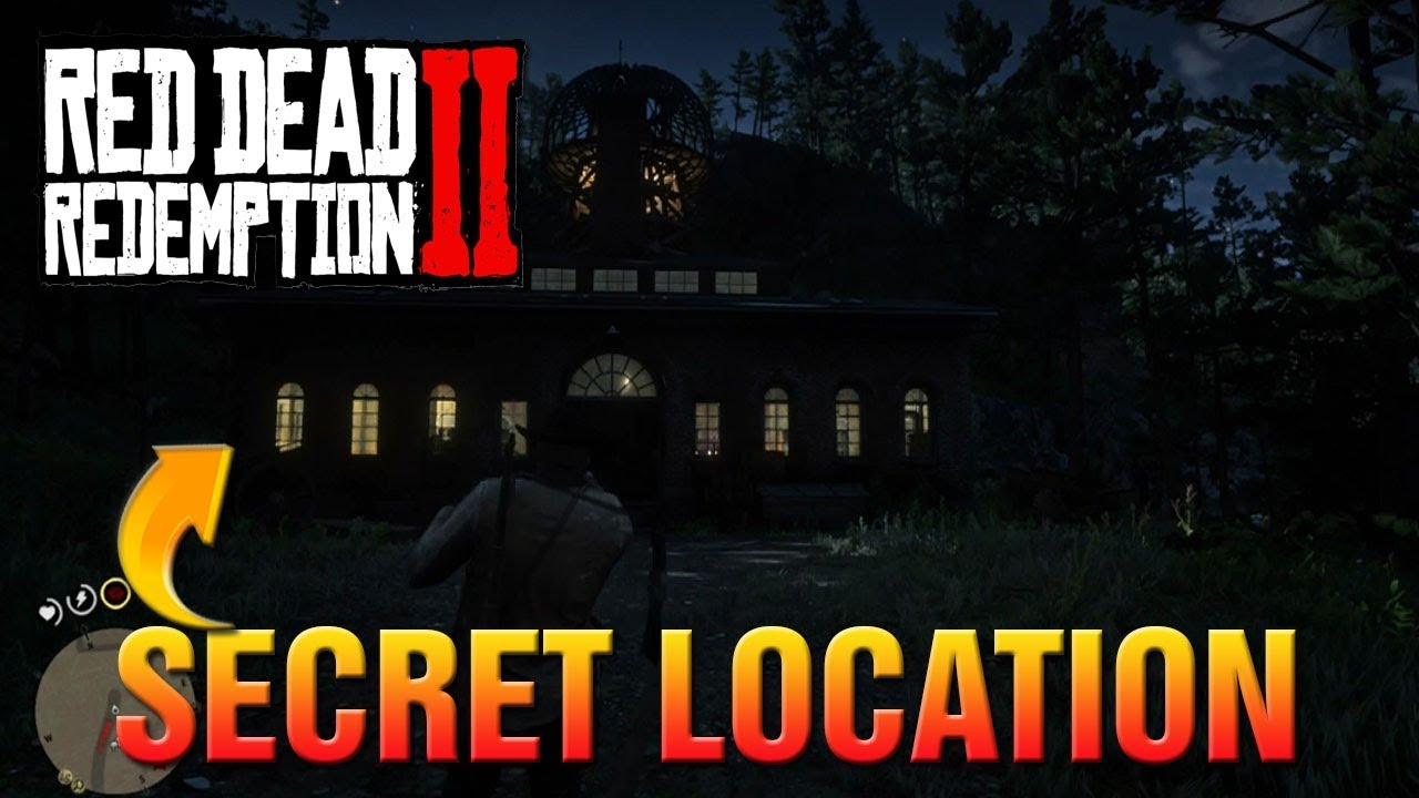Red Dead Redemption 2 How To Find Secret Marco Dragic Laboratory! Red Dead 2 Epic Secret Location!