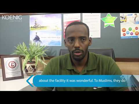 Student from  Somalia attended Red Hat Training at Koenig