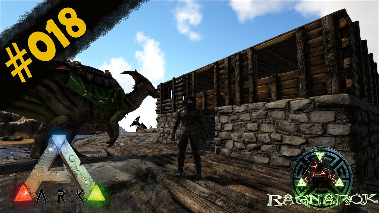 Wir richten die Küche ein!  #20  ARK Ragnarok  Gameplay german deutsch
