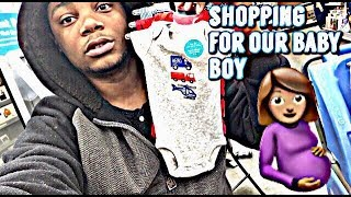 MY GIRLFRIEND 5 MONTHS PREGNANT SHOPPING FOR OUR BABY BOY | MOST LIT VLOG 🔥