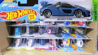 2019 H USA Hot Wheels Case Unboxing Video with McLaren Senna