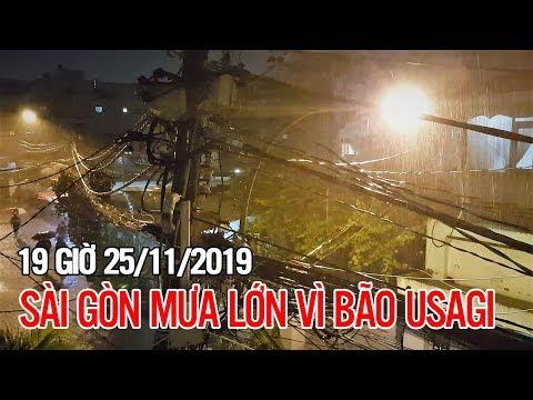 Sài Gòn mưa lớn và dai dẳng sau bão số 9 (lúc 19g00') | BKB Channel