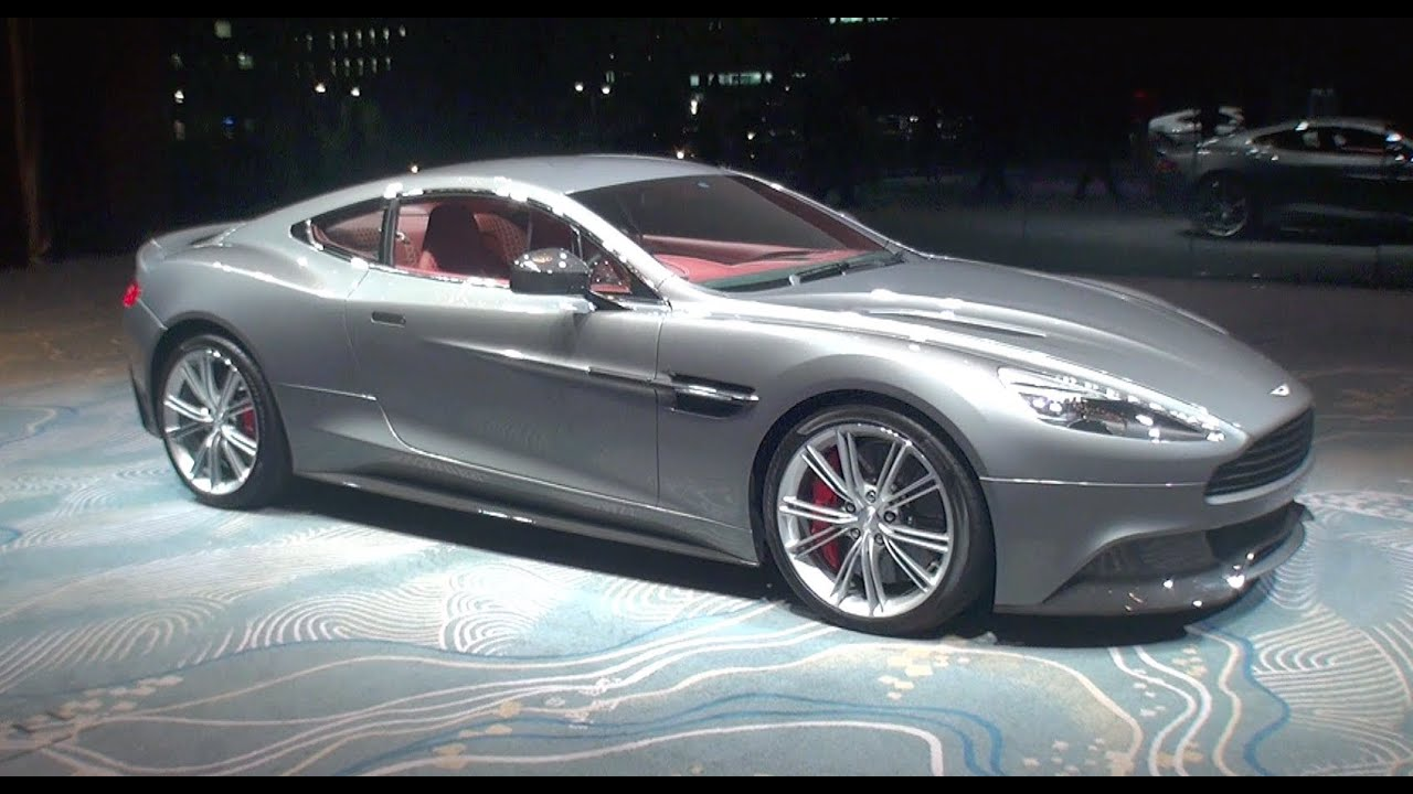 New Aston Martin Vanquish Launch 新型ヴァンキッシュ ローンチ Youtube